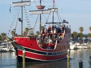 Pirate ship clearwater beach